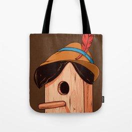 Woodpecker´s house Tote Bag