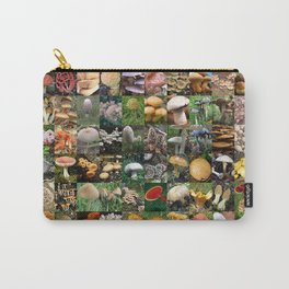 Mushroom Montage Carry-All Pouch