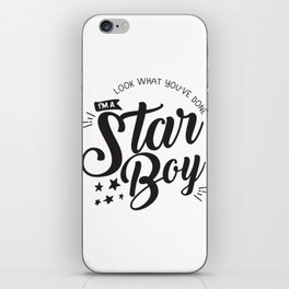 I am a Starboy iPhone Skin