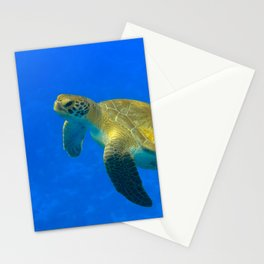 Wildlife: Green Turtle I Stationery Cards