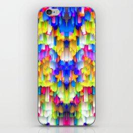 Colorful digital art splashing G395 iPhone Skin
