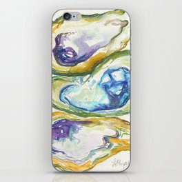 3 Oysters iPhone Skin