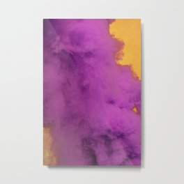 Ultraviolet Smoke Metal Print