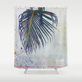 Storms don't last forever. Shower Curtain