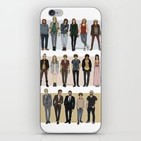 cargline iPhone & iPod Skins featuring Character Line Up by cargline