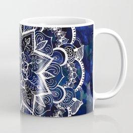 Queen Starring of Mandalas Navy Coffee Mug