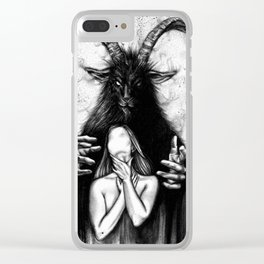 tell me everything Clear iPhone Case