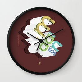 Mandamientos Wall Clock