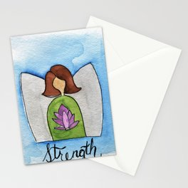 Angel of Strength Stationery Cards