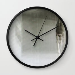 shopping wildly Wall Clock