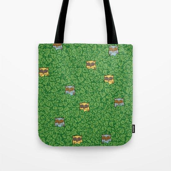 Little Leafy Friends Tote Bag