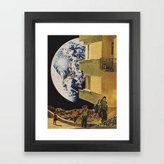 MIGRATION (v.2) Framed Art Print