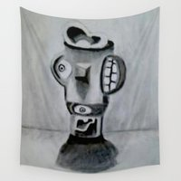 picasso Wall Tapestries featuring Modern Picasso  by JayKay