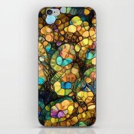 Peacock Rainbow Glitter iPhone Skin