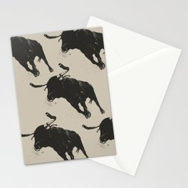 Bullhorns Stationery Cards