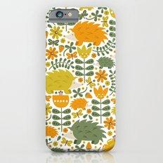 Autumn Hedgehog Forest Slim Case iPhone 6s