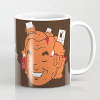 jack daniels Mugs featuring Jack by Derek Eads