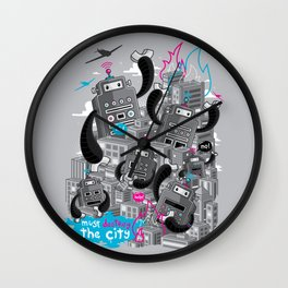 Must destroy the city - Revisited Wall Clock