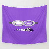 minion Wall Tapestries featuring MINION by Acus
