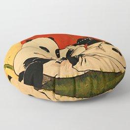 JIU JITSU PANDAS Floor Pillow