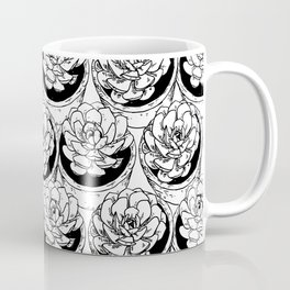 Succulents Pattern Coffee Mug