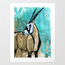 Oryx n Art Print