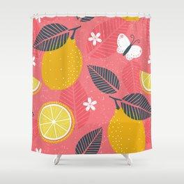 Make Lemonade Shower Curtain