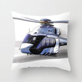 Airbus H-160 Throw Pillow