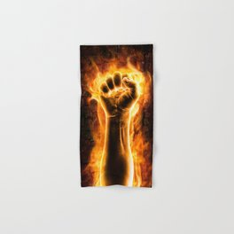 Fire fist Hand & Bath Towel