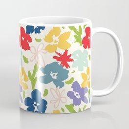 70s inspired loose florals Coffee Mug