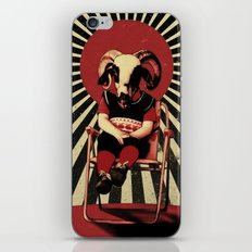 SIT TIGHT iPhone & iPod Skin