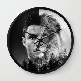 Cristiano Ronaldo Beast Mode Wall Clock