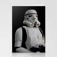 stormtrooper Stationery Cards featuring Stormtrooper by Pixel Villain