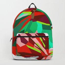 Betta fish Geometric artwork Backpack