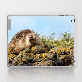 Seal at Dunvegan Castle, Scotland Laptop & iPad Skin
