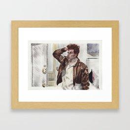 Cosmo Framed Art Print