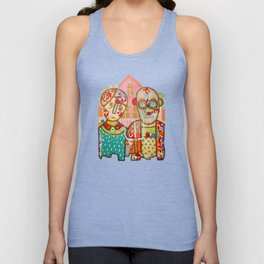 The American Gothic Unisex Tank Top