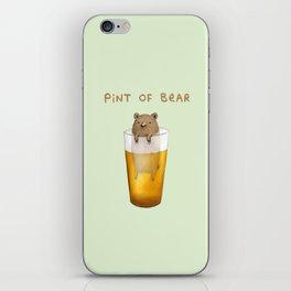 Pint of Bear iPhone Skin