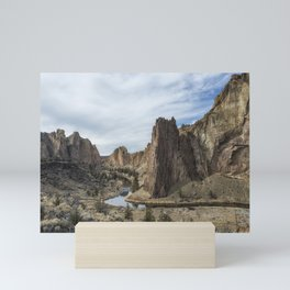 Between a Rock and a Hard Space Mini Art Print