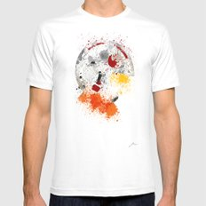 Messiah White MEDIUM Mens Fitted Tee