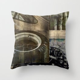 SRC Preparations. Racecar Rebels. Race Two Throw Pillow