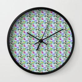 He's Here Wall Clock