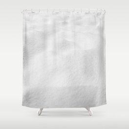 Snowscape // High Resolution Snow Drift Close Up Landscape Photo Winter Vibes Shower Curtain
