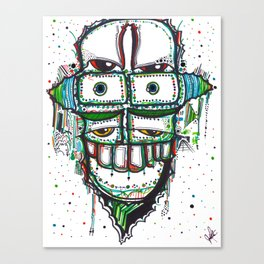 Stacker Canvas Print