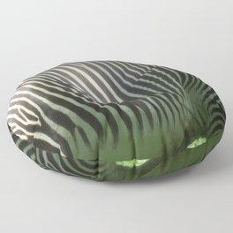 Zebra Floor Pillow