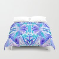 crystal Duvet Covers featuring Crystal by Cs025