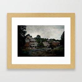 Clarke Street Framed Art Print