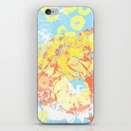 floral 003. iPhone Skin