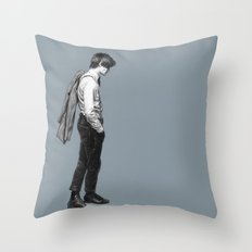 Come Along Pond - Doctor Who Throw Pillow