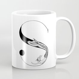 Mermaid Alphabet - S Coffee Mug